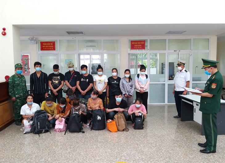 Phát hiện 17 công dân nhập cảnh trái phép qua đường mòn biên giới Lạng Sơn