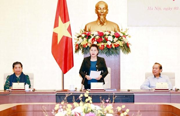 Phiên họp lần thứ nhất Hội đồng bầu cử quốc gia