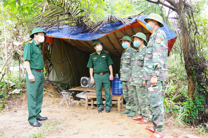 Siết chặt công tác phòng chống dịch Covid-19 tại khu vực cửa khẩu quốc tế Cầu Treo