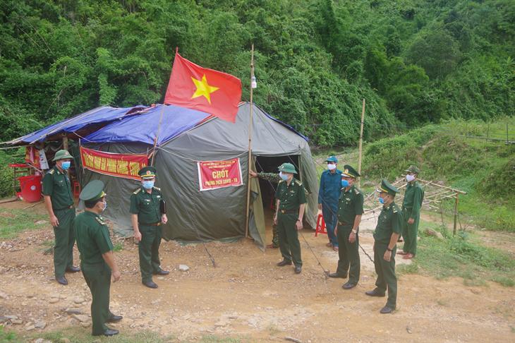 Tăng cường kiểm tra công tác phòng chống dịch Covid-19 tại Quảng Trị