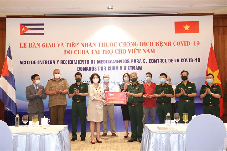 Cuba hỗ trợ Việt Nam phòng, chống dịch Covid-19