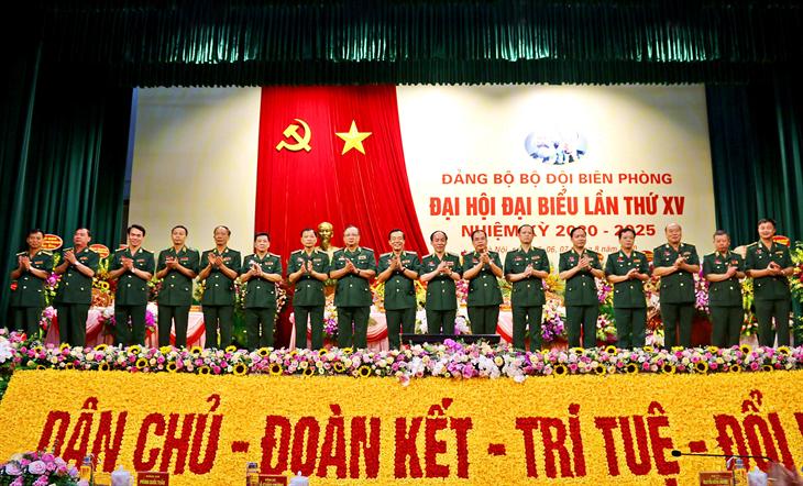 Đại hội đại biểu Đảng bộ BĐBP lần thứ XV, nhiệm kỳ 2020-2025 thành công tốt đẹp