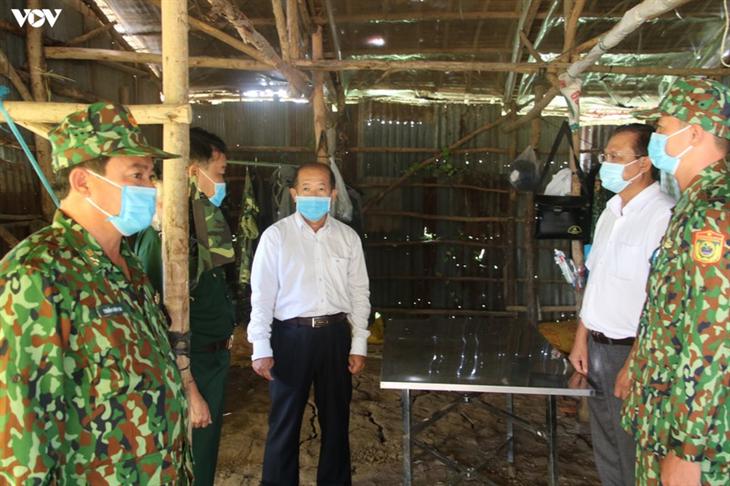 BĐBP Đồng Tháp tuần tra ngày đêm để phòng dịch Covid-19