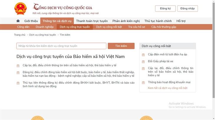 Bảo hiểm xã hội Việt Nam đẩy mạnh triển khai các dịch vụ công trực tuyến