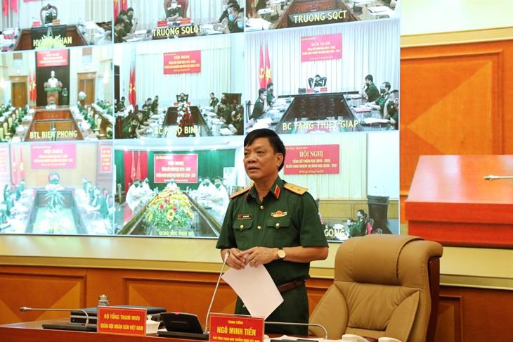 Bộ Tổng Tham mưu QĐND Việt Nam triển khai nhiệm vụ năm học 2020-2021