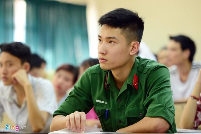 Điểm sàn của 18 trường quân đội