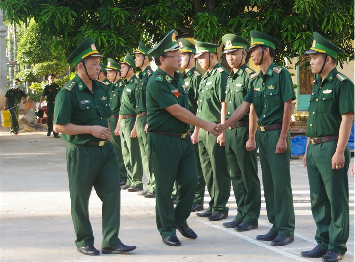 Đồn Biên phòng cửa khẩu Mỹ Quý Tây: Nhiều nỗ lực trong quản lý, bảo vệ biên giới