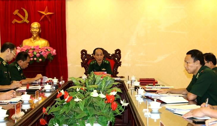 Cho chủ trương triển khai thực hiện tổ chức, biên chế mới của cơ quan Bộ Tư lệnh BĐBP