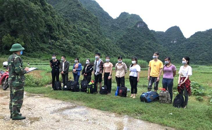 Phát hiện 11 công dân nhập cảnh trái phép từ Trung Quốc vào Việt Nam