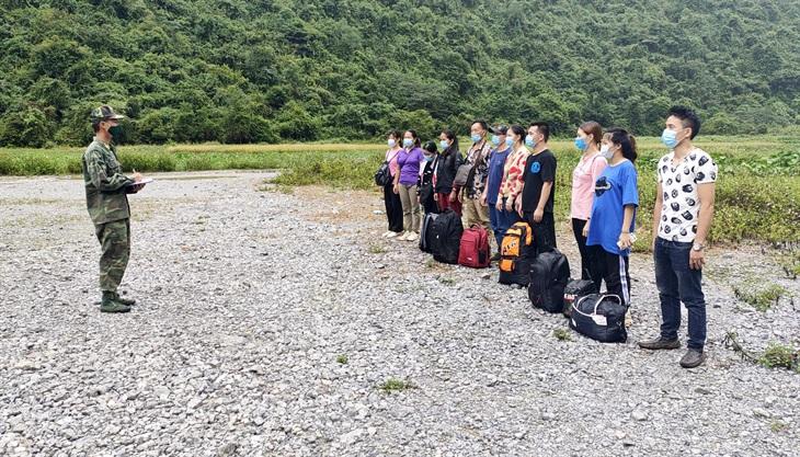 Ngăn chặn 21 công dân nhập cảnh trái phép từ Trung Quốc vào Việt Nam