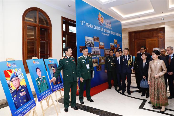 Phát huy tốt hiệu quả của cơ chế hợp tác quốc phòng, quân sự ASEAN