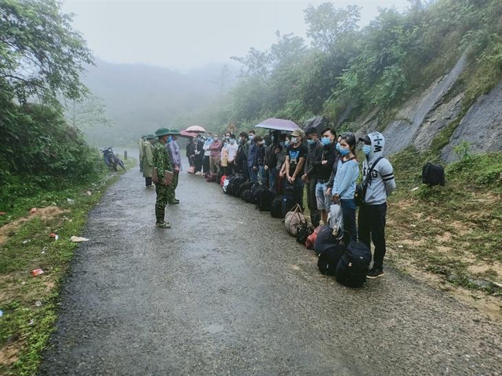 Trong 3 ngày, ngăn chặn 5 vụ nhập cảnh trái phép từ Trung Quốc về Việt Nam