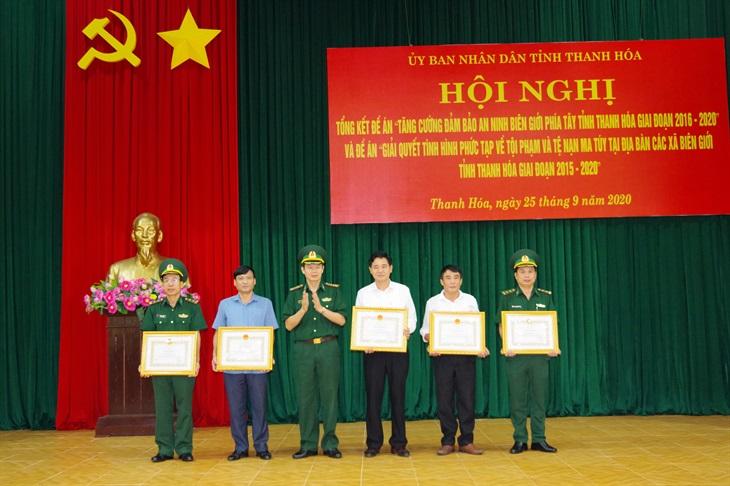 Thực hiện hiệu quả các đề án của UBND tỉnh Thanh Hóa trên biên giới