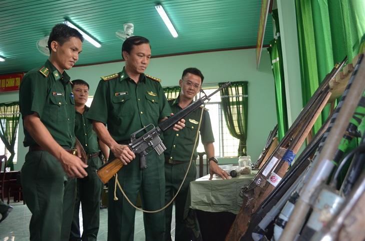 Nhiều thành tích trong công tác thu hồi vũ khí, vật liệu nổ trái phép