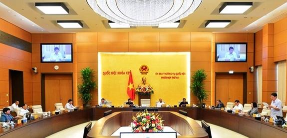 Công bố các nghị quyết của Ủy ban Thường vụ Quốc hội về nhân sự và về bộ máy giúp việc của Hội đồng bầu cử quốc gia