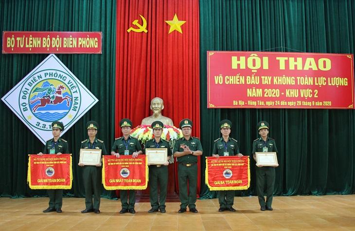 BĐBP Bình Phước đoạt giải Nhất tại Hội thao Võ chiến đấu tay không toàn lực lượng BĐBP