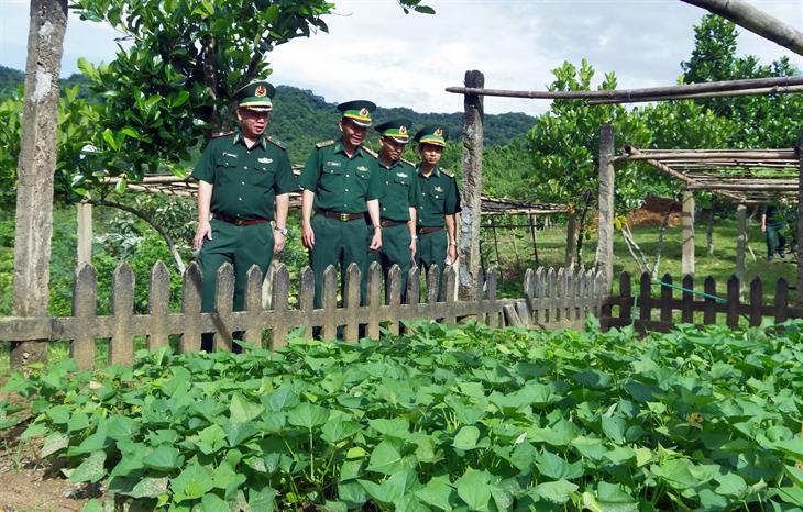 Đoàn kiểm tra số 2 kết thúc kiểm tra toàn diện tại BĐBP Thừa Thiên Huế