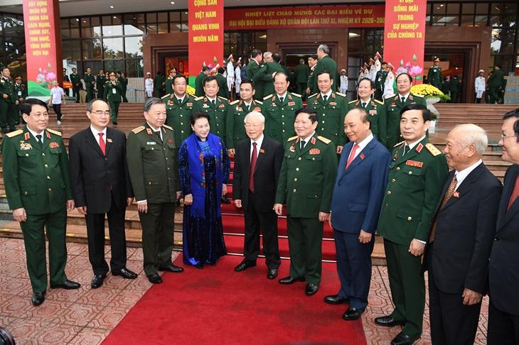 Dấu mốc quan trọng đưa Quân độibước vào thời kỳ phát triển mới