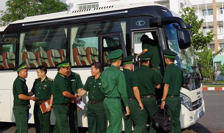 BĐBP các tỉnh, thành tăng cường lực lượng phòng chống dịch Covid-19 cho tuyến biên giới Tây Nam