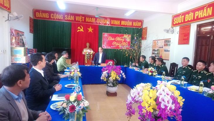 Lãnh đạo tỉnh Gia Lai thăm, kiểm tra, chúc Tết các đơn vị Biên phòng