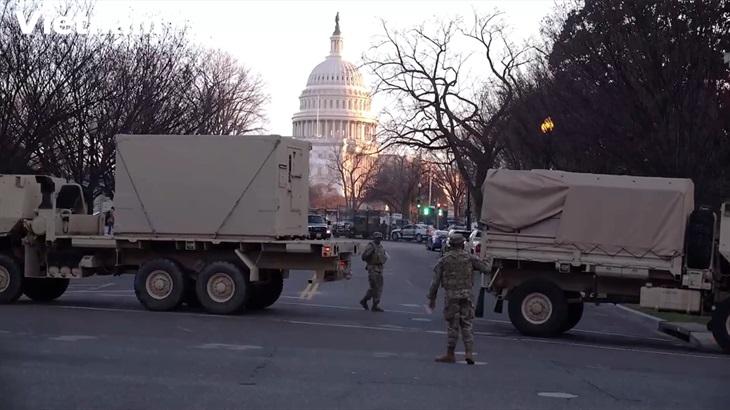 Mỹ tăng cường an ninh trước lễ nhậm chức tổng thống của ông Joe Biden