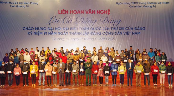 Chương trình Lời ca dâng Đảng chào mừng Đại hội đại biểu toàn quốc lần thứ XIII của Đảng