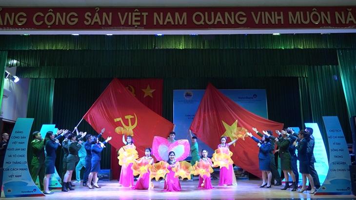 Ấm áp Lời ca dâng Đảng chào mừng Đại hội đại biểu toàn quốc lần thứ XIII của Đảng