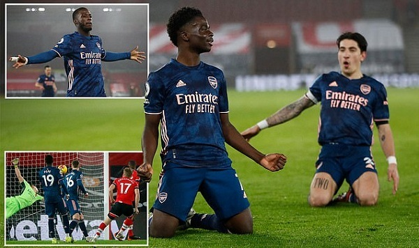 Man City hủy diệt đối thủ, Arsenal đòi nợ Southampton