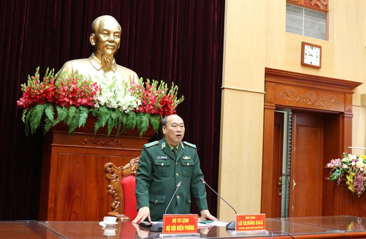 Bộ Tư lệnh BĐBP kích hoạt các biện pháp phòng chống dịch Covid-19 ở mức độ cao nhất
