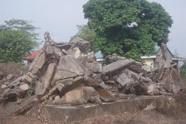 Khu di tích nhà đày Lao Bảo -nguy cơ trở thành phế tích