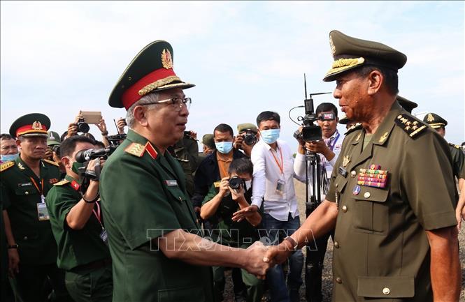 Điểm sáng trong hoạt độngđối ngoại quốc phòng năm 2020