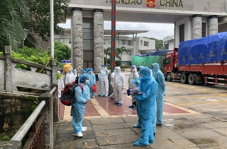 BĐBP Hà Giang: Tiếp nhận 23 công dân do Trung Quốc trao trả