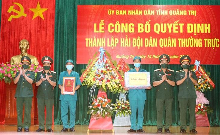Quảng Trị thành lập Hải đội Dân quân thường trực