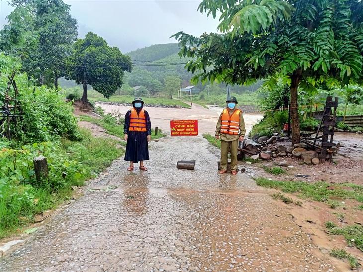 BĐBP Quảng Bình triển khai các phương án ứng phó với mưa lũ