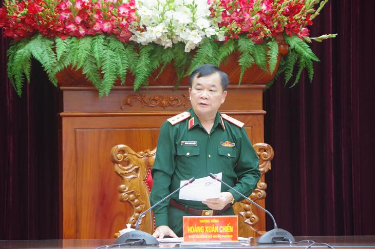 Tích cực chuẩn bị cho chương trình Giao lưu hữu nghị Quốc phòng biên giới Việt Nam - Lào lần thứ nhất