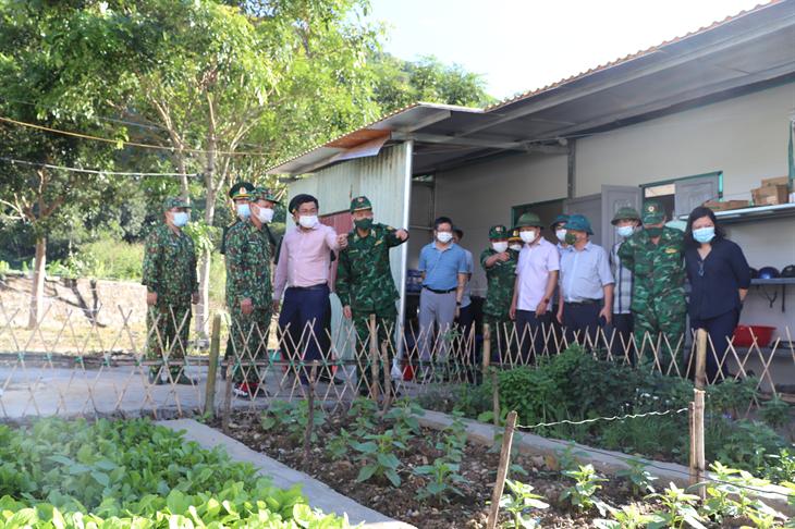 Đoàn công tác Bộ Ngoại giao kiểm tra công tác biên giới lãnh thổ tuyến biên giới tỉnh Lai Châu