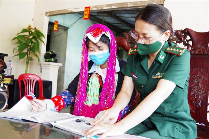 Ngọn cờ đầu của phụ nữ BĐBP Quảng Ninh
