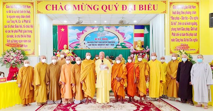 Đại hội đại biểu Phật giáo huyện Tịnh Biên, nhiệm kỳ 2021-2026
