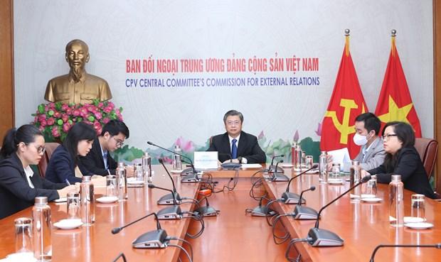 Việt Nam-Trung Quốc tọa đàm trực tuyến về phòng chống dịch Covid-19