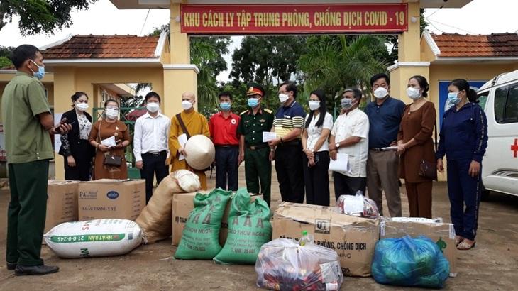 Gia Lai: Phật giáo huyện Chư Sê cung cấp hơn 30.000 suất ăn hỗ trợ các khu cách ly y tế