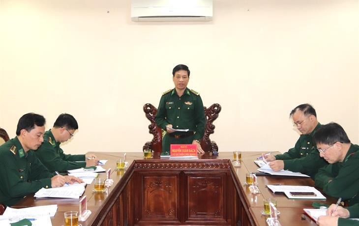 Đảm bảo chu đáo cho lớp tập huấn cán bộ Biên phòng tham gia cấp ủy cấp huyện biên giới