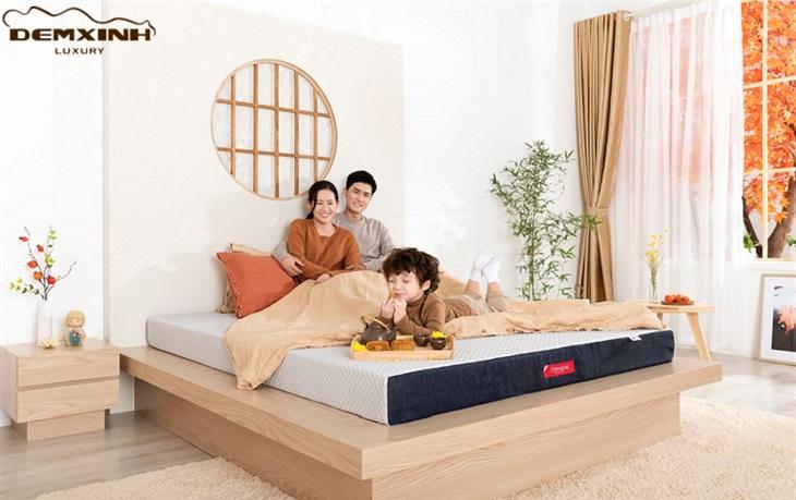 Đệm Xinh - Đệm Foam Nhật Bản được nhiều gia đình Việt ưa chuộng