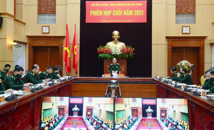 Hội đồng Thi đua-Khen thưởng BĐBP họp phiên cuối năm 2021