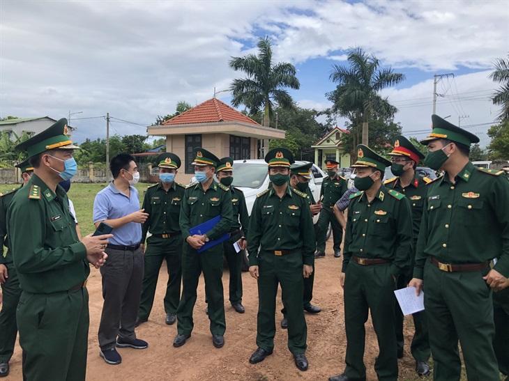 Kiểm tra công tác chuẩn bị tổ chức Giao lưu hữu nghị Quốc phòng biên giới Việt Nam-Lào lần thứ nhất