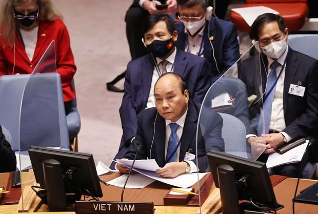 Chủ tịch nước sẽ dự phiên thảo luận mở cấp cao về hợp tác Liên hợp quốc và AU