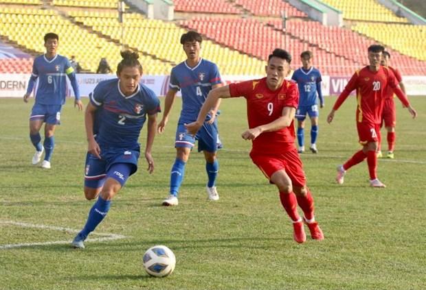 U23 Việt Nam thắng chật vật Đài Bắc Trung Hoa, khởi đầu thiếu ấn tượng