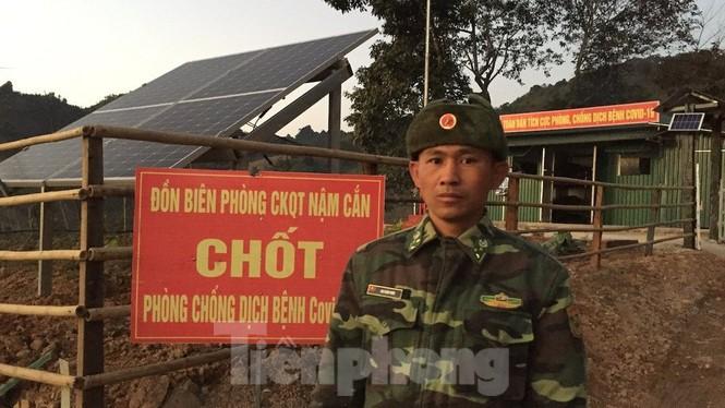 Lính Biên phòng viết đơn xin trực Tết nơi biên cương Tổ quốc