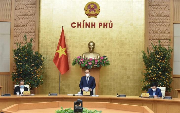 Thủ tướng Nguyễn Xuân Phúc: Triển khai ngay, quyết liệt, đồng bộ Nghị quyết Đại hội XIII của Đảng