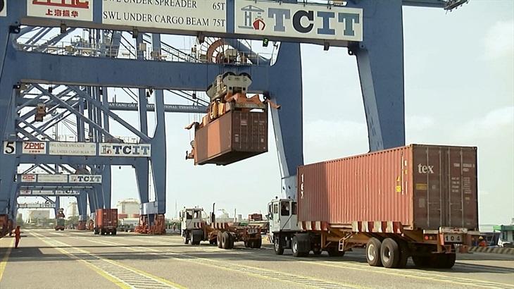Xuất nhập khẩu đạt hơn 1,6 tỉ USD trong dịp Tết Tân Sửu