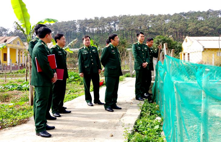 Bộ Chỉ huy BĐBP Quảng Bình kiểm tra công tác chuẩn bị đón nhận chiến sĩ mới năm 2021